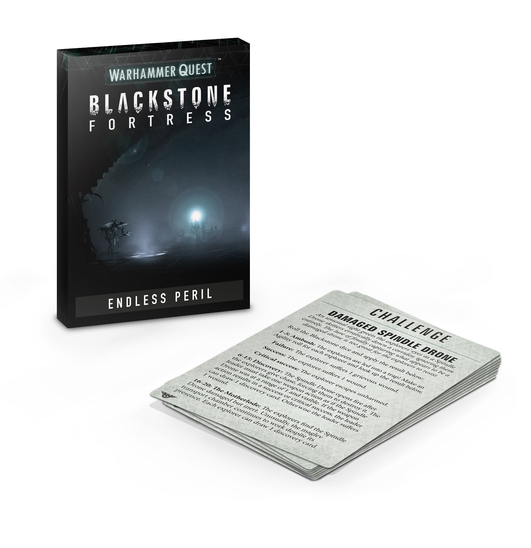 Blackstone Fortress: Péril Infini