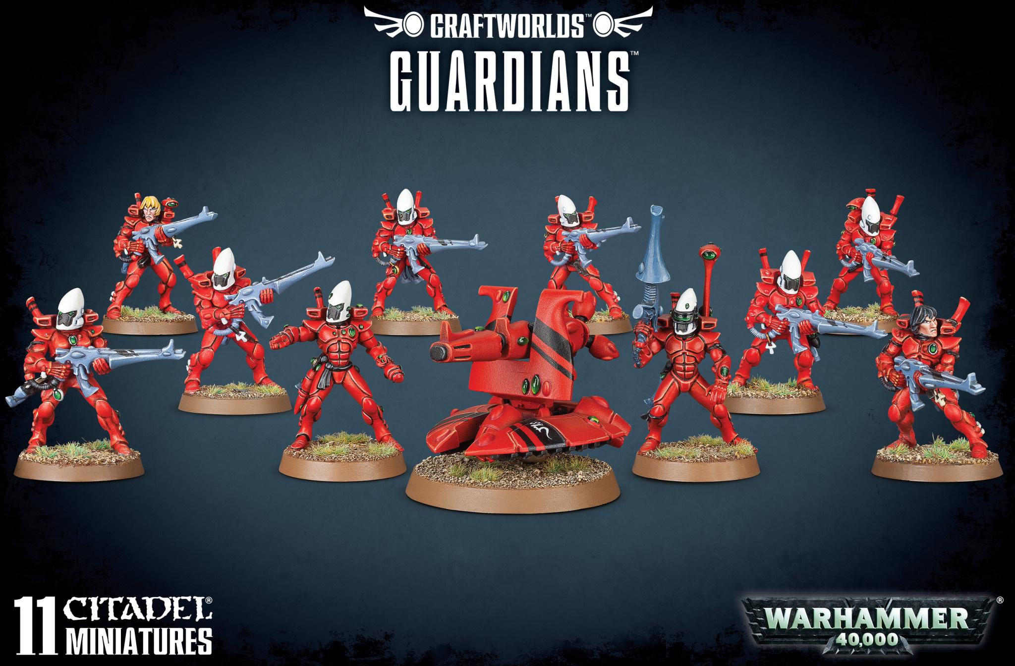 Craftworlds Guardians Squad