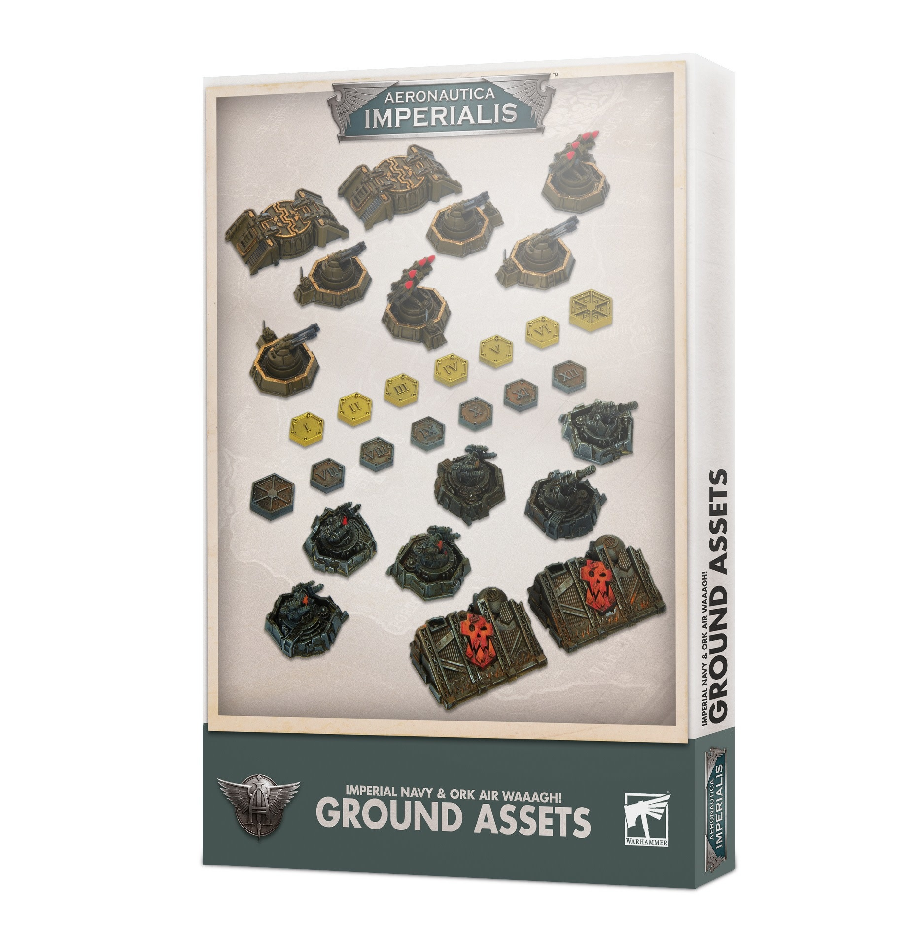 Aeronautica Imperialis :  Imperial and Ork Ground Assets