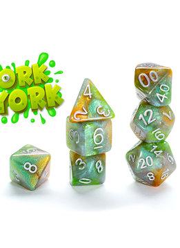 Aether Dice: Ork York 7-Dice Set