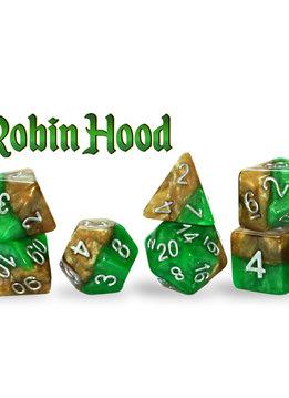 Halfsies Dice: Robin Hood 7-Dice Set