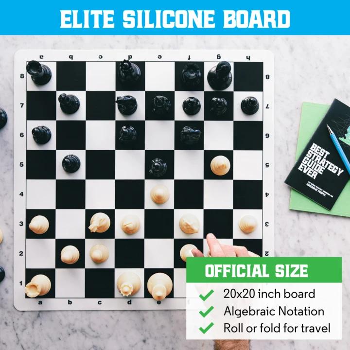 Best Chess Set Ever XL (Black)