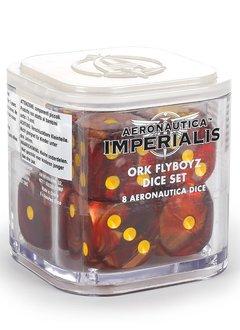 Aeronautica Imperialis : Ork Flyboyz Dice Set