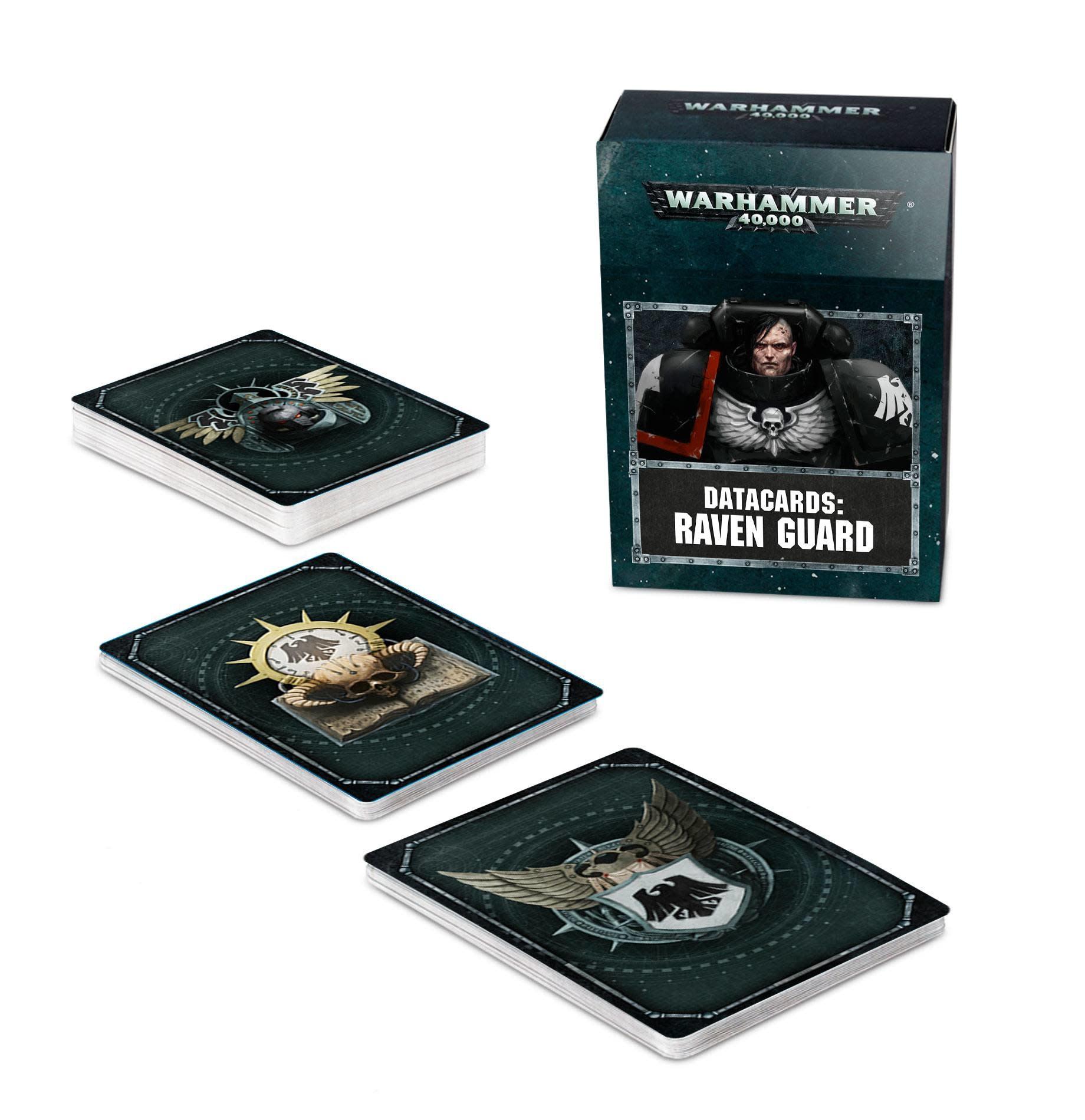 Datacards: Raven Guard (FR)