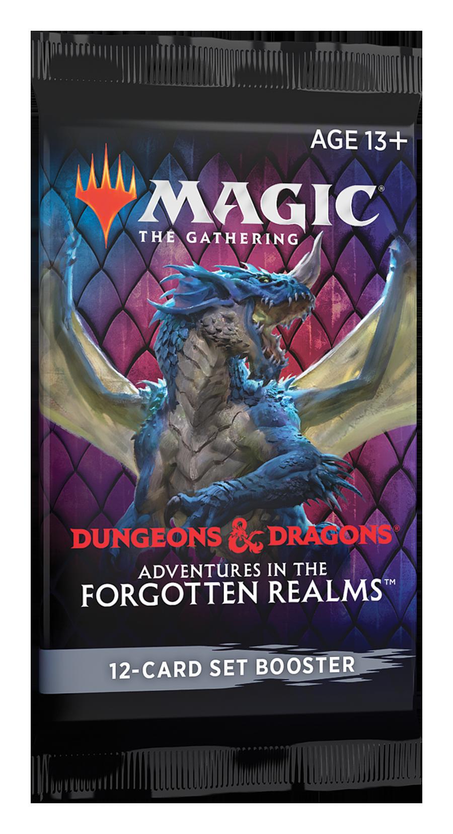 D&D Forgotten Realms Set Booster Pack