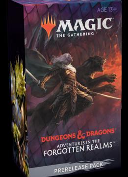 D&D Forgotten Realms - Prerelease à la maison
