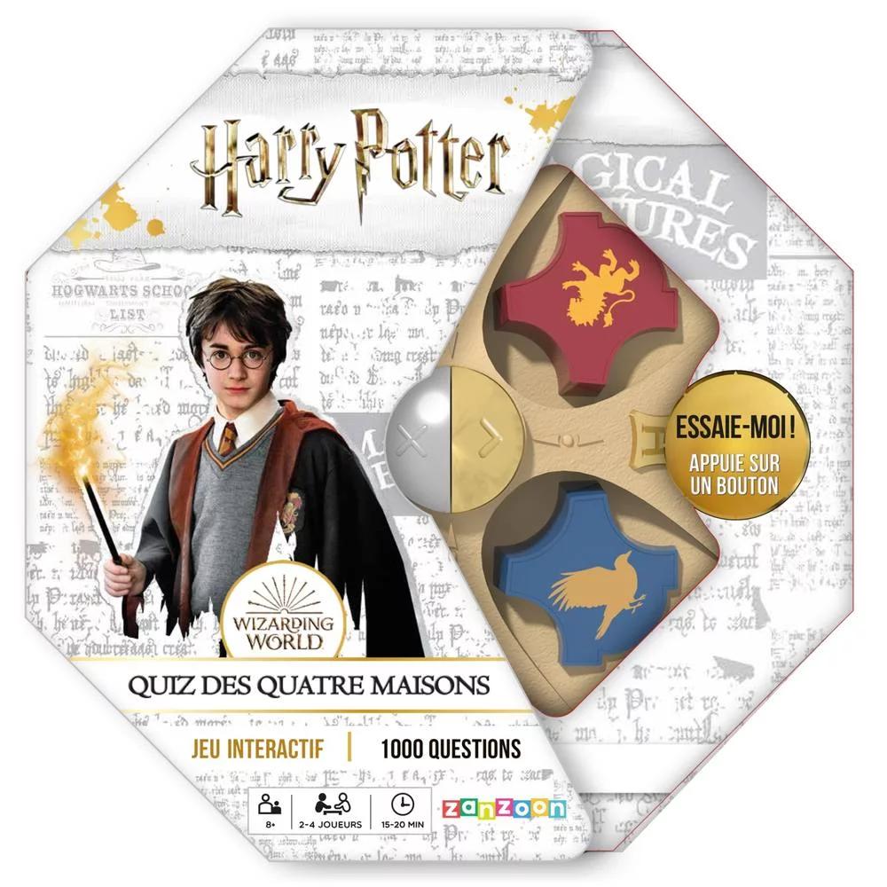 Harry Potter: Quiz des Quatre Maisons (FR)
