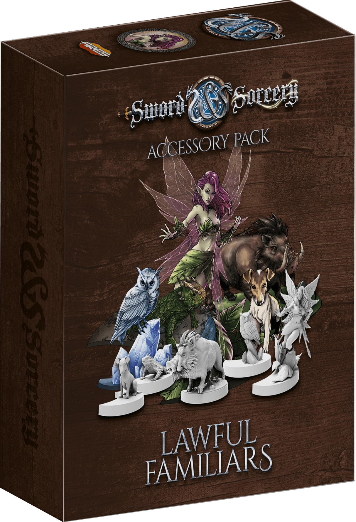 Sword & Sorcery: Lawful Familiars Accessory Pack