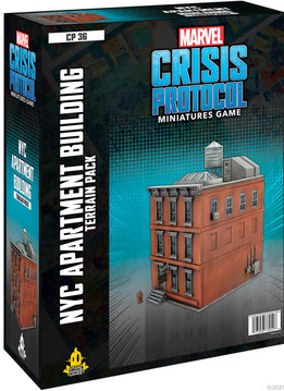 Marvel CP: NYC Apartment Building Terrain Expansion