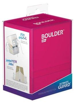 Boulder Deck Case: Standard 80+ Rhodonite (Pink)