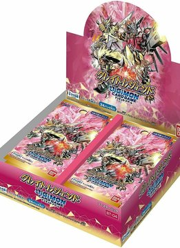 Digimon TCG: Great Legend - Booster Box