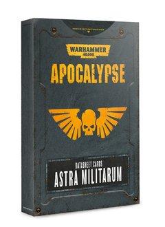Apocalypse: Datasheet Cards Astra Militarum (Disponible le 6 Juillet)