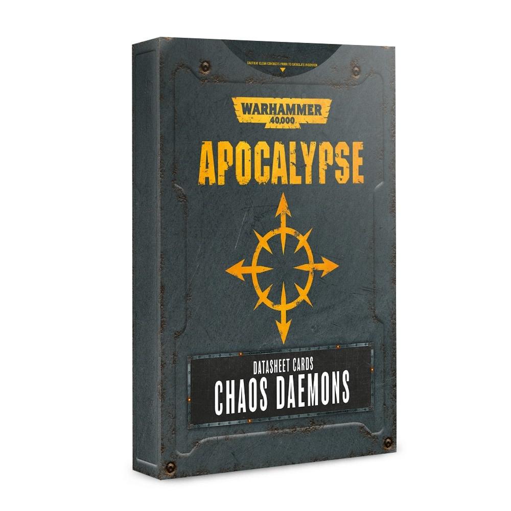 Apocalypse: Datasheet Cards Chaos Daemons (Disponible le 6 Juillet)