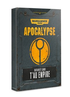 Apocalypse: Datasheet Cards T'au Empire (Disponible le 6 Juillet)