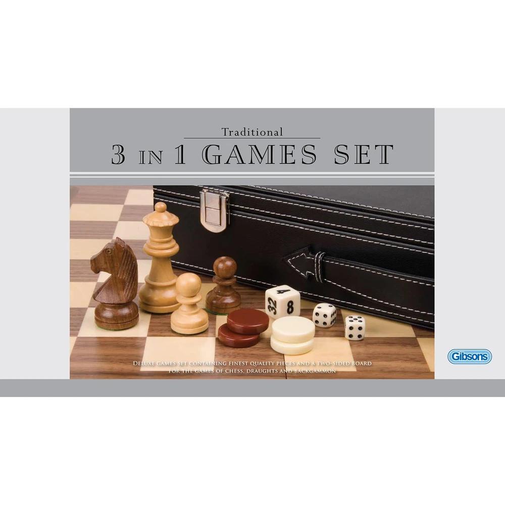Luxury 3 in 1 Games Set