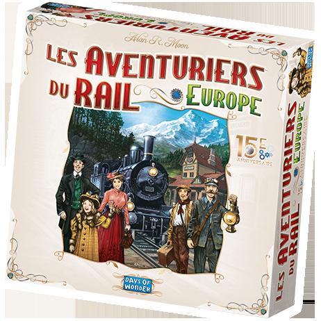 Les Aventuriers du Rail: Europe 15e Anniversaire