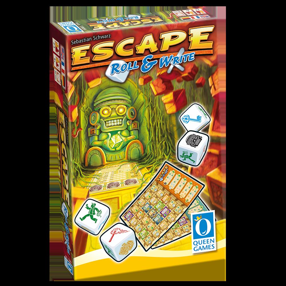 Escape: Roll & Write