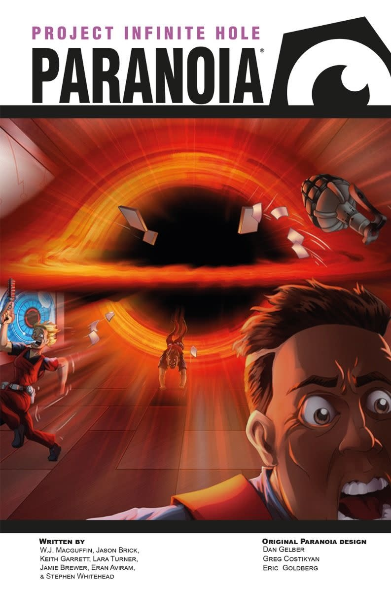 Paranoia: Project Infinite Hole R&D Box Set