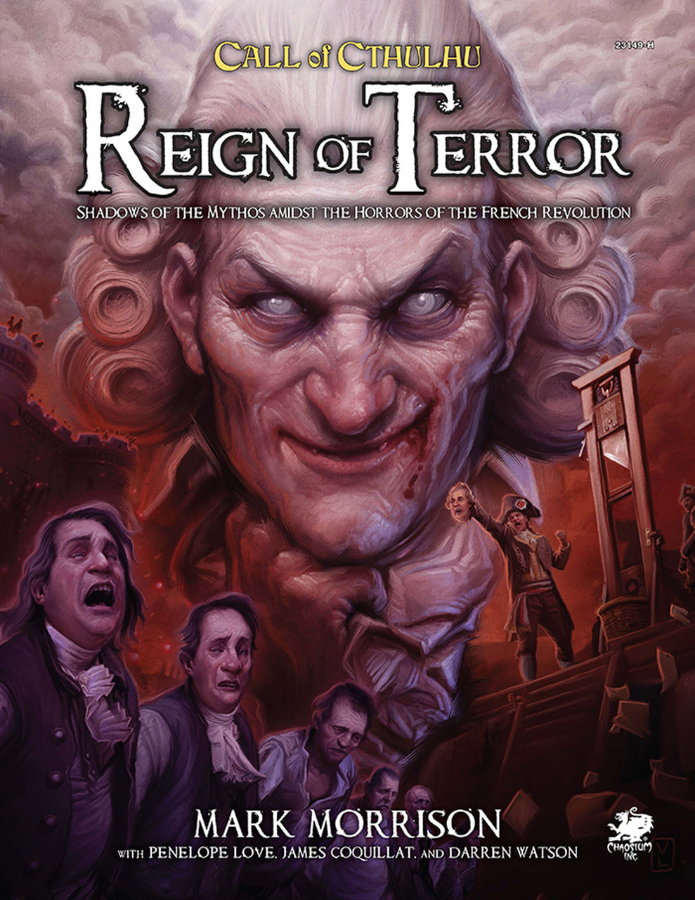 Call of Cthulhu Reign of Terror (HC)