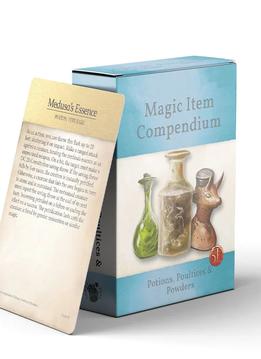 Magic Items Compendium: Potions, Poultices & Powders Deck