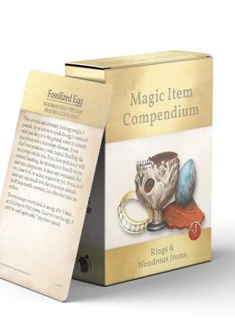 Magic Items Compendium: Rings & Wondrous Items Deck