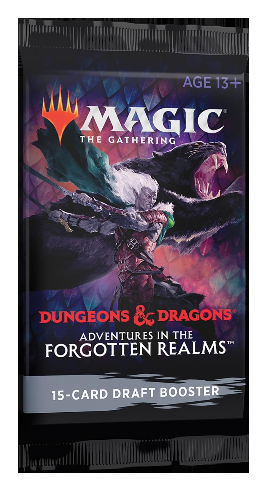 D&D Forgotten Realms Draft Booster Pack
