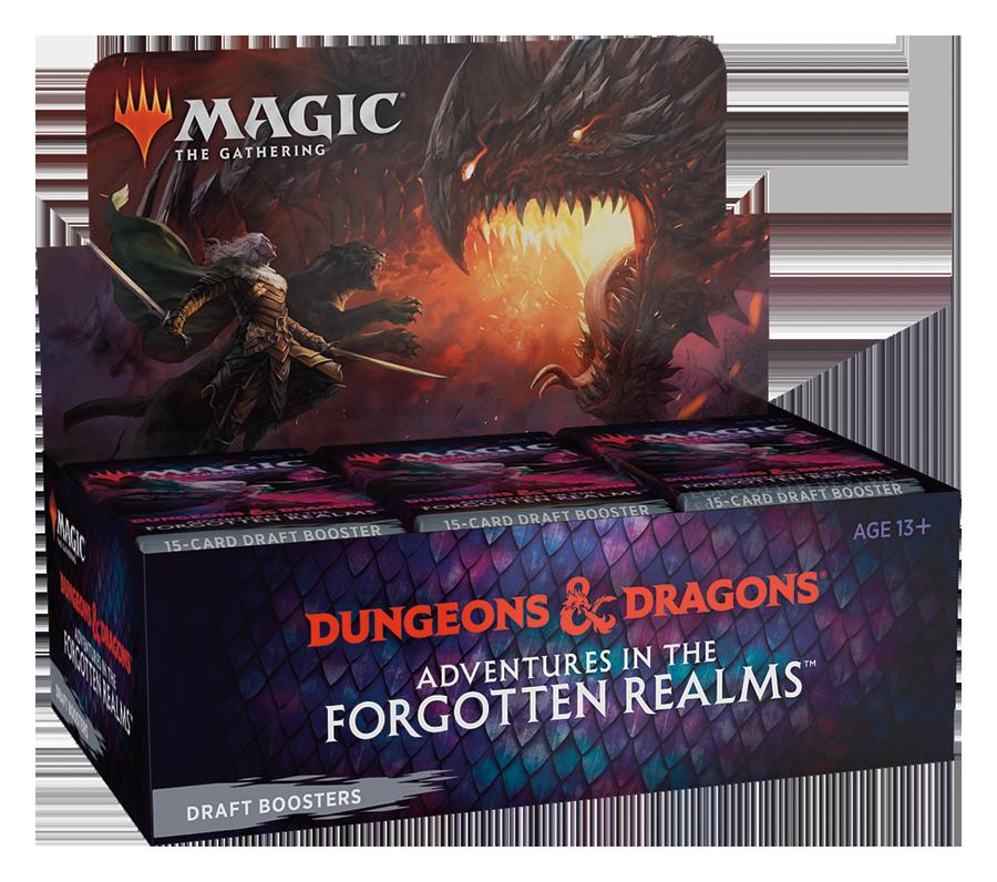 D&D Forgotten Realms Draft Booster Box