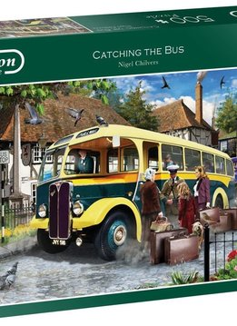 Puzzle: Catching the Bus, Chilvers (500pcs)
