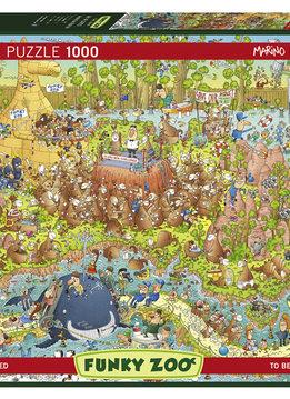 Puzzle: Australian Habitat - Funky Zoo, Degano (1000pcs)