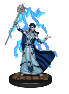 D&D Icons Elf Wizard Female Premium