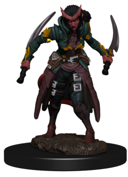 DnD Icons Tiefling Rogue Female Premium