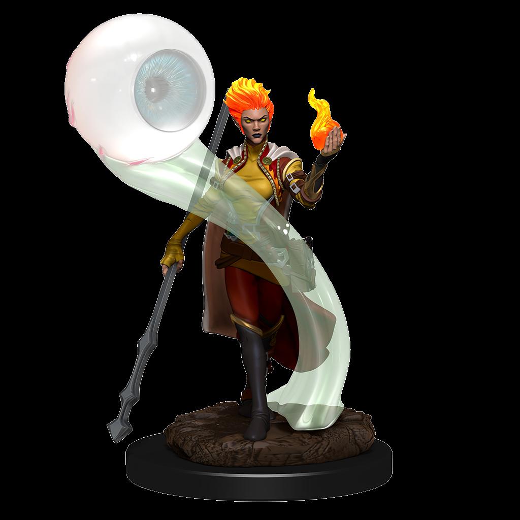 D&D Icons Fire Genasi Wizard Female Premium