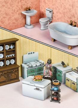 Terrain Crate: Bathroom and Kitchen