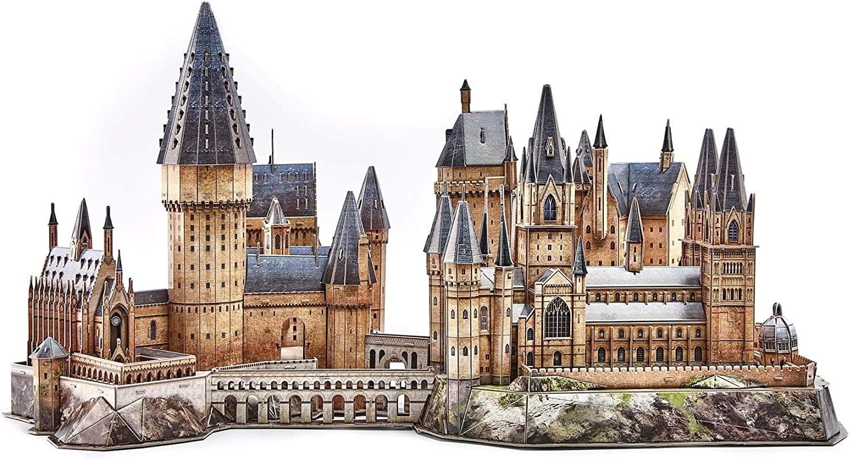 3D Puzzle: Harry Potter - Hogwarts Castle (Medium) (197 pcs)