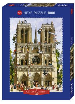 Puzzle: Vive Notre Dame! - Cartoon Classics, Loup (1000pcs)