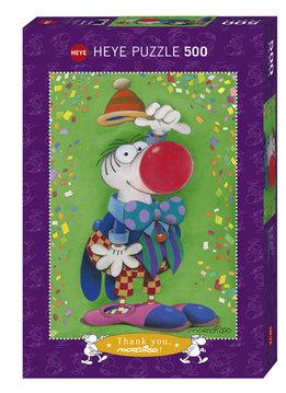 Puzzle: Thank you! - Cartoon Classics, Mordillo (500pcs)