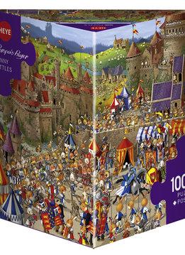 Puzzle: Bunny Battles, Ruyers (1000pcs)