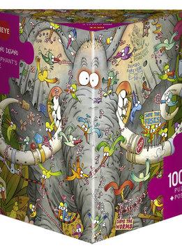 Puzzle: Elephant's Life, Degano (1000pcs)