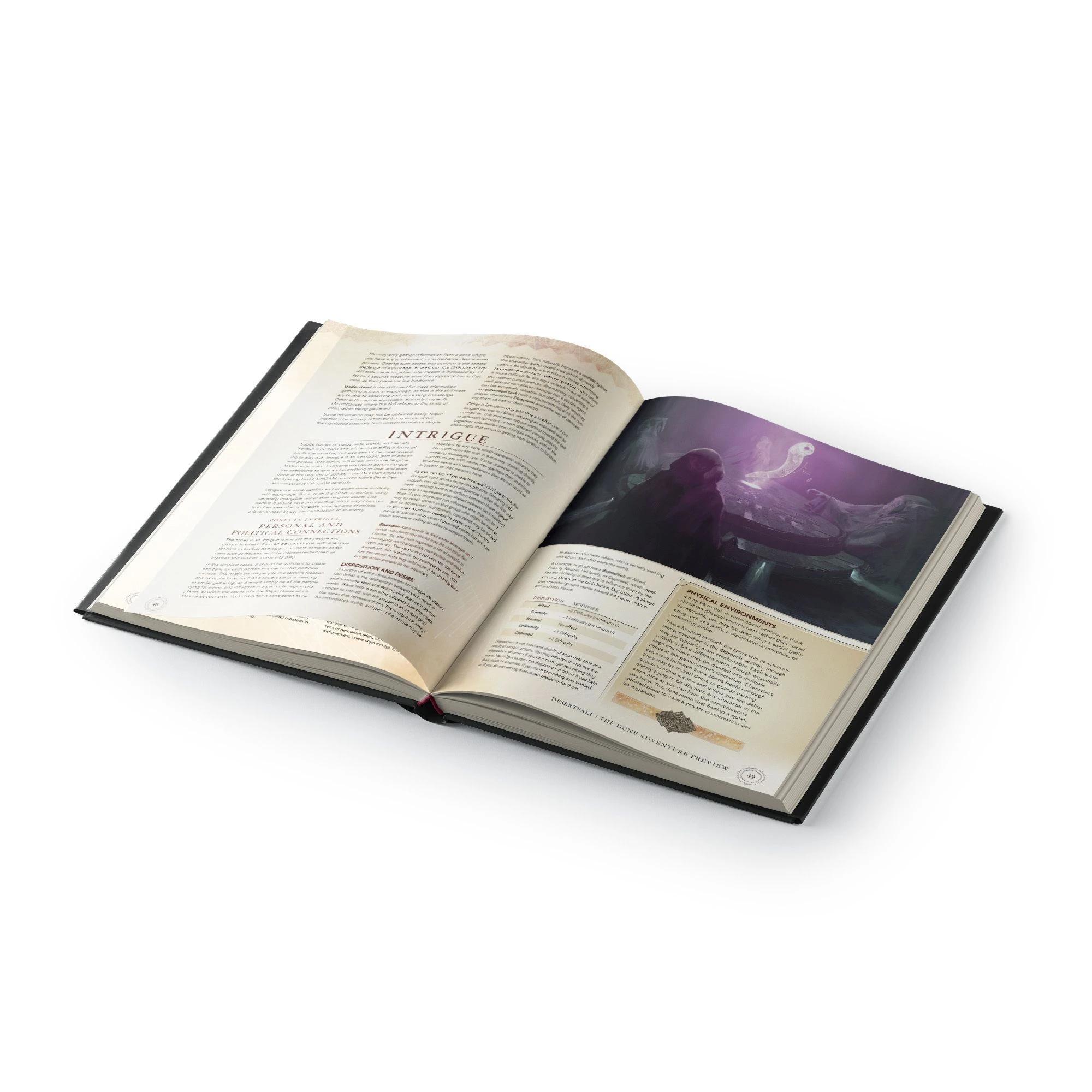 Dune RPG: Core Rulebook - Corrino Collector's Edition (HC)