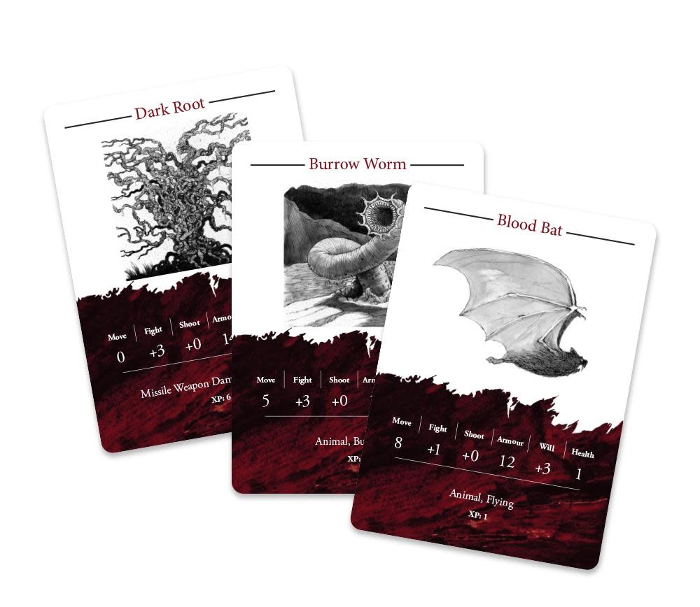 Rangers of Shadowdeep: Creature Card Deck