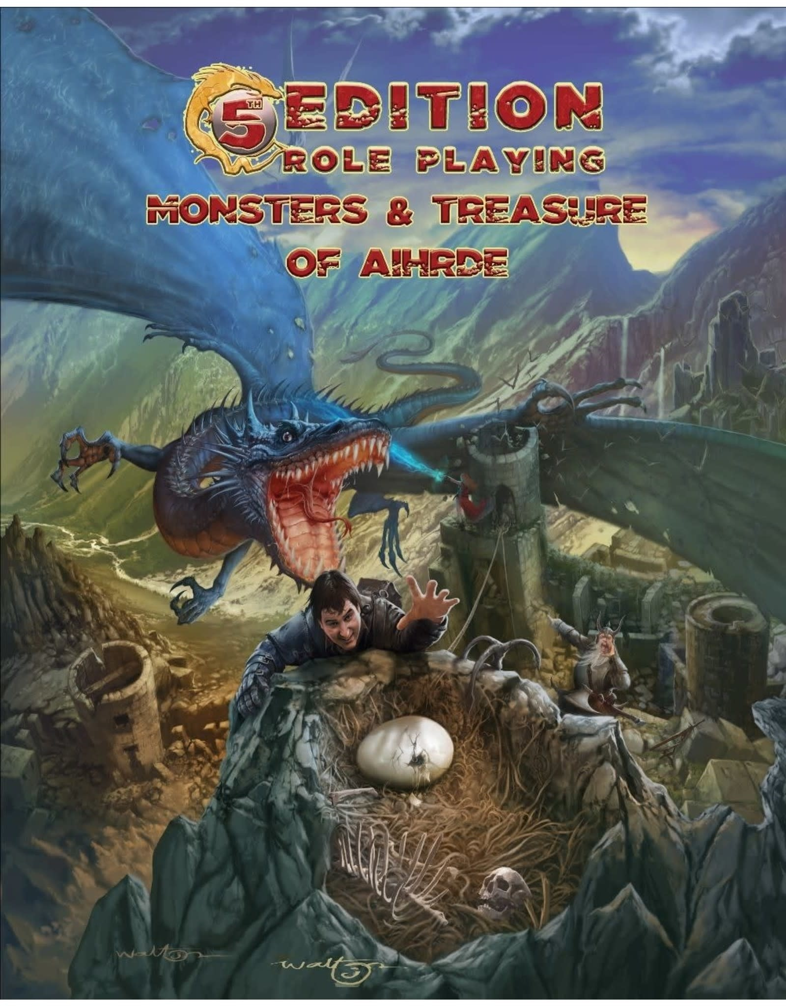 5th Edition Adv.: Monsters & Treasures of Aihrde (HC)