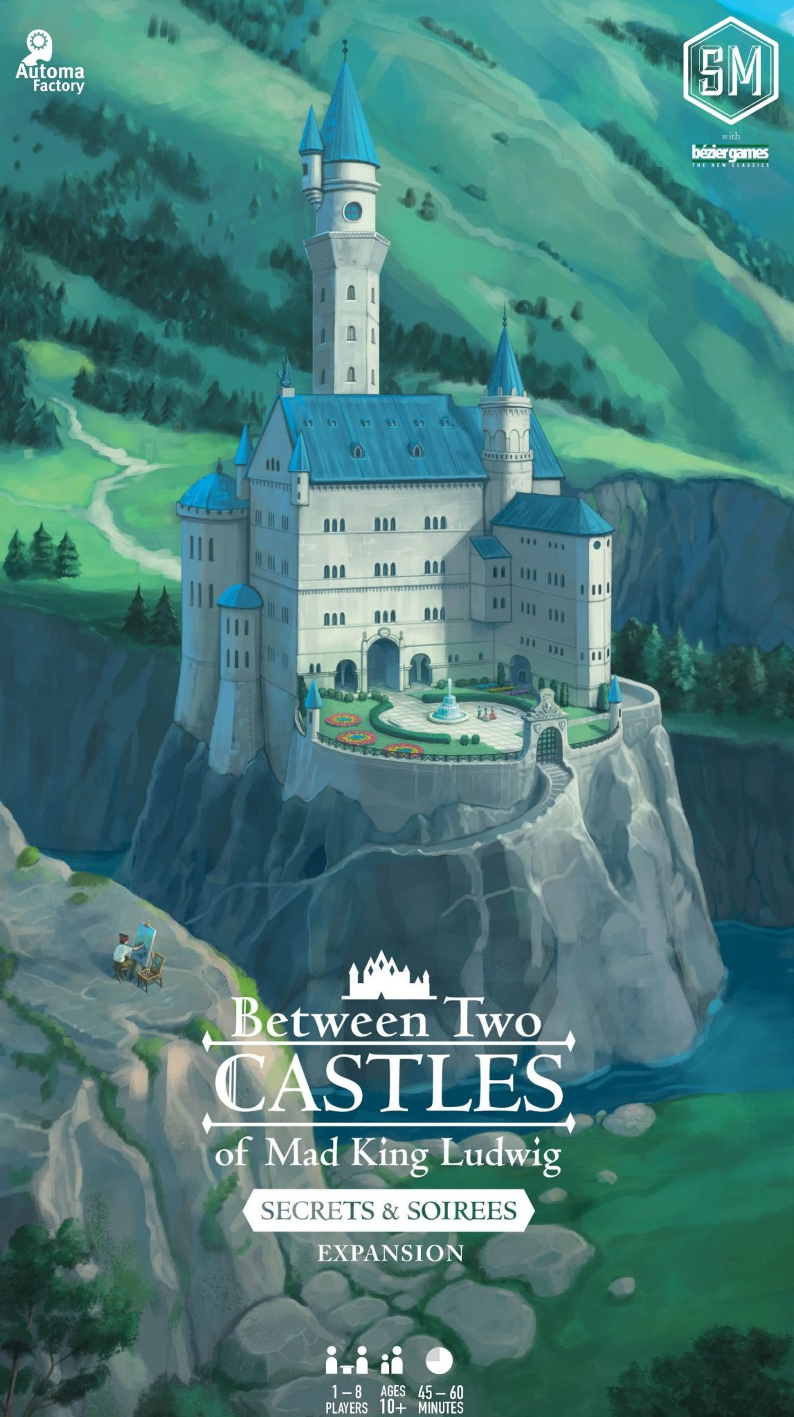 Between Two Castles of Mad King Ludwig: Secrets & Soirees Exp.