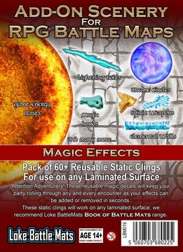 Add-On Scenery for RPG Battle Mats: Magic Effects