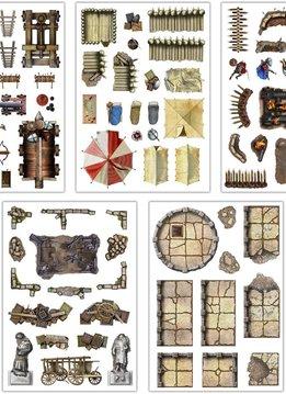 Add-On Scenery for RPG Battle Mats: War & Siege