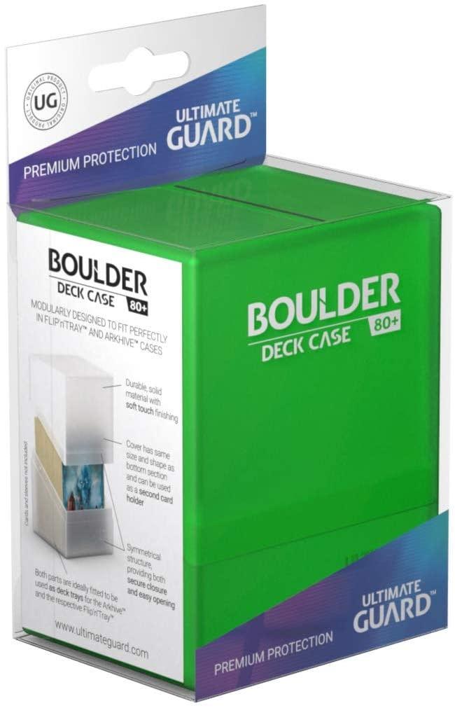 Boulder Deck Case: Standard 80+ Emerald