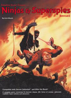 Ninjas & Superspies RPG (HC)