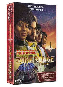 Pandemic Zone Rouge: Europe