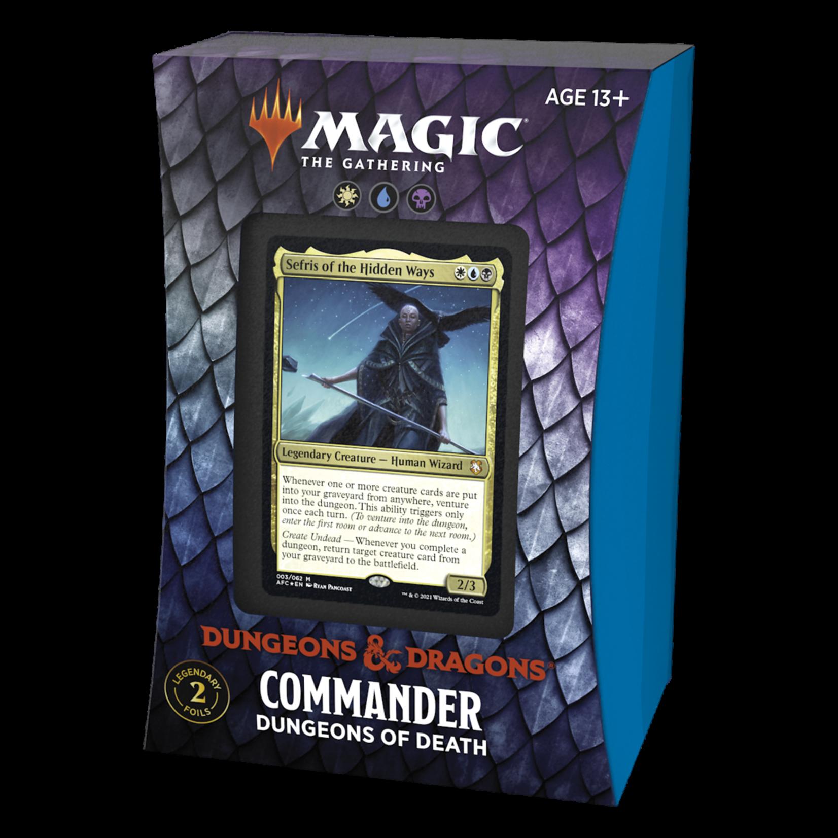 AFR Commander Deck: Dungeons of Death