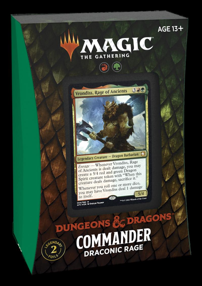 AFR Commander Deck: Draconic Rage