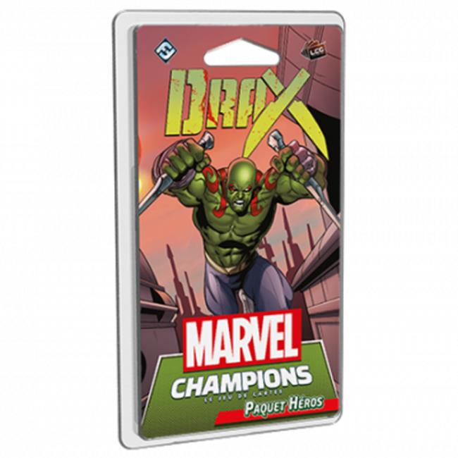 Marvel Champions: Le Jeu De Cartes: Drax (FR)